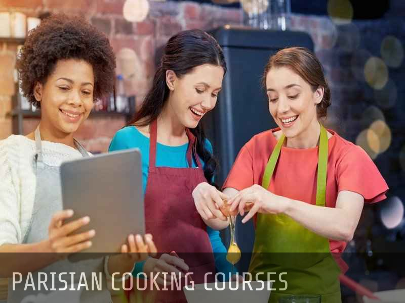 Paris cooking class in english